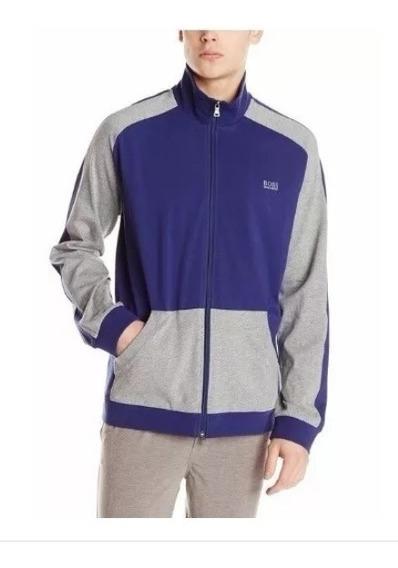 Chamarra Hugo Boss (cotton Zip Track Jacket) L 100% Original