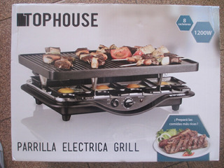 Parrilla Electrica Top House Usada Antiadherente Grill