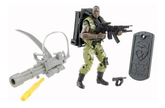 Gi Joe Rise Of Cobra Heavy Duty Loose Comandos Em Ação