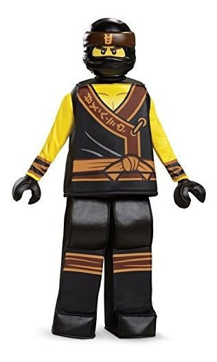Disfraz De Presley Cole Lego Ninjago Movie Yellowblack Large