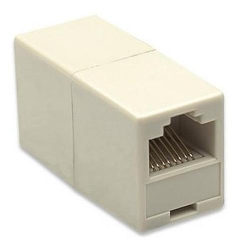 Adaptador Cupla Rj45 Hembra Para Unir Cable Utp Lan Ethernet