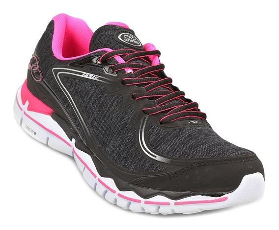 Olympikus Zapatillas Mujer Running G Flit Negro / Rosa