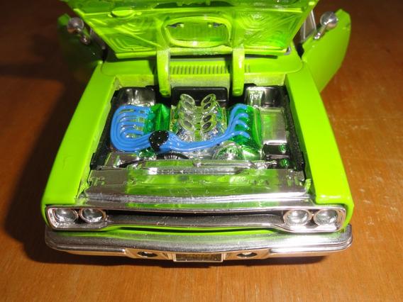 Plymouth Gtx 1970 Escala 1/24 Maisto Usado Excelente Estado