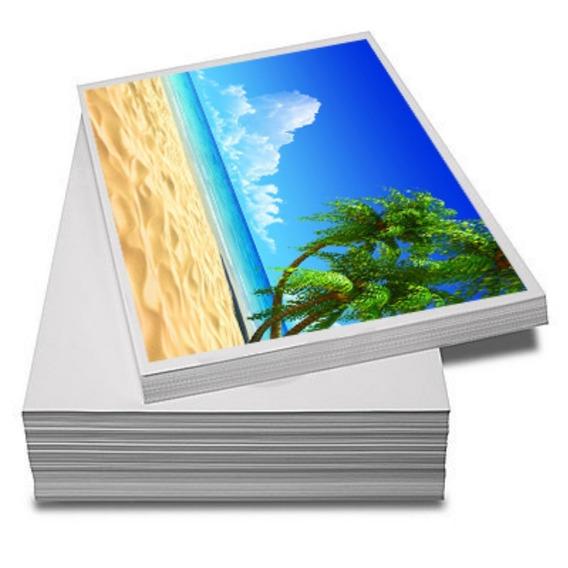 100 Papel Foto Microporoso Satin 260g 10x15 A6 Prova D