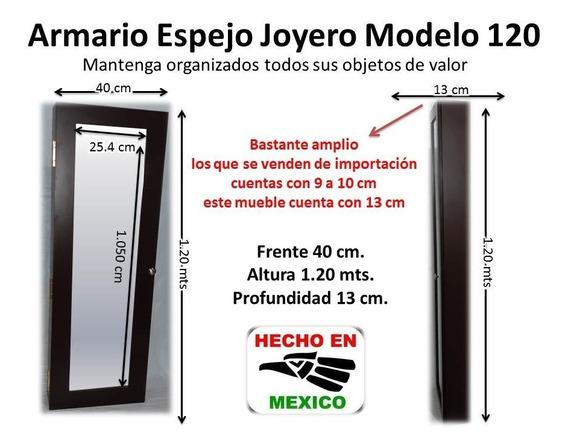 Armario Espejo Joyero Modelo 120