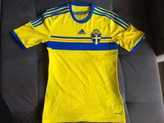 Camisa adidas Oficial Da Seleção Suécia C/ Cod Autenticidade
