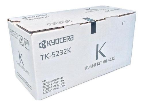 Imagen 1 de 1 de Toner Tk-5232k Kyocera Original Para P5021cdn/cdw