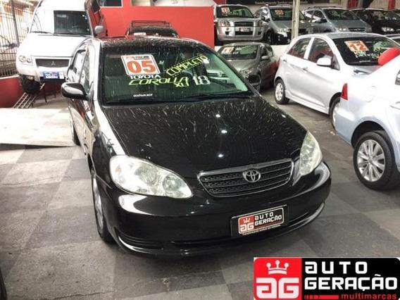 Toyota Corolla Sedan Xei 1.8 16v (nova Série) Gasolina Man