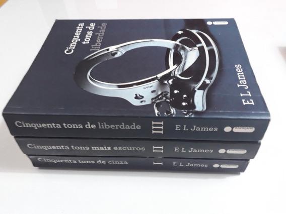 Livro: 50 Tons De Cinza - Trilogia - 03 Volumes