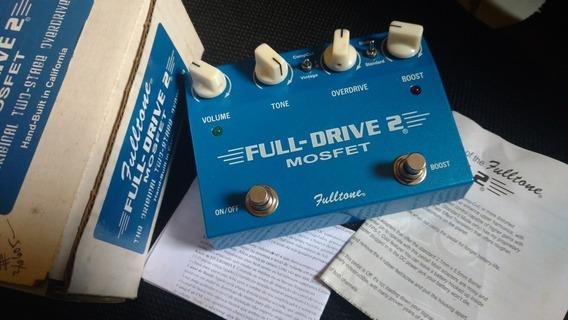Pedal Fultone Fulldrive 2 (boss,fender, Gibson,line6,ocd)