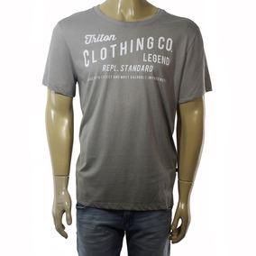 f9ddc961d Camiseta Triton - Camisetas Masculino Manga Curta no Mercado Livre ...