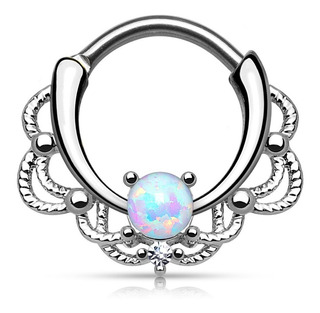 Sepum Clicker Un Opal Blanco Piercing Argentina ®