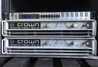 Crown 24x6 / Powersoft / Yamaha / Lab Gruppen