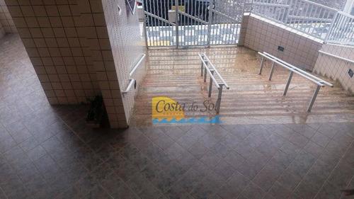 Apartamento Com 1 Dormitório À Venda, 65 M² Por R$ 235.000,00 - Vila Guilhermina - Praia Grande/sp - Ap7312