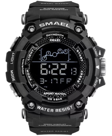 Relógio Masculino Smael 1802 Original Digital Tático Militar