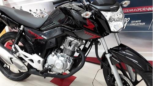 Imagem 1 de 14 de Honda Fan 160 Flex 3 Anos De Garantia -