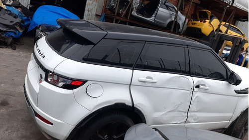 Range Rover Evoque 2015  Sucata Para Venda De Peças