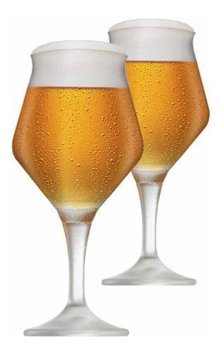 Imagem 1 de 3 de Kit Taça De Cerveja Cristal Ritzenhoff  Beer Sommelier 430ml