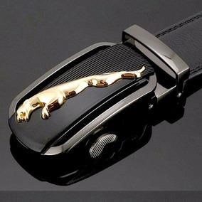 Cinto Social Jaguar Puma De Couro Golf Executivo + Chaveiro
