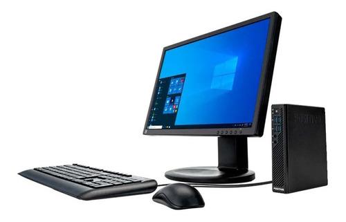 Cpu + Monitor 22pol Positivo Core I3 6ger 4gb 240gb Ssd Novo