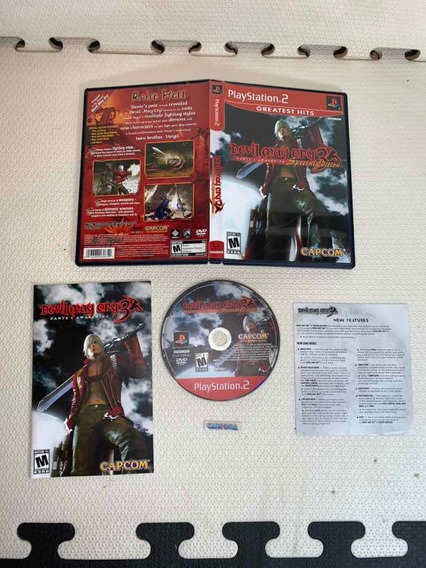 Devil May Cry 3 Original Completo Ps2