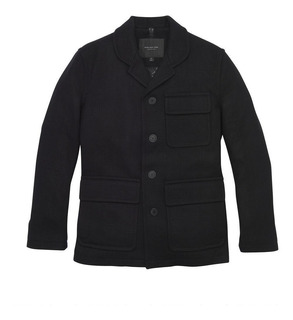 Abrigo Marc New York By Andrew Marc Lyons Bakers Jacket...