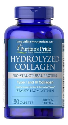Colageno Hidrolizado 180 Tab 1 Y 3 Cabello Uñas Piel Vitam C