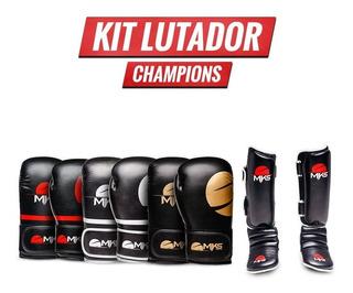 Kit Mks Champions : Luva + Caneleira