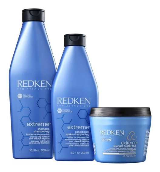 Redken Kit Extreme Builder Strengthening (3 Produtos)