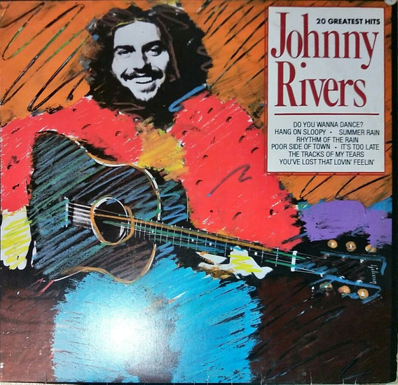 Disco Lp Johnny Rivers 20 Greatest Hits 1990
