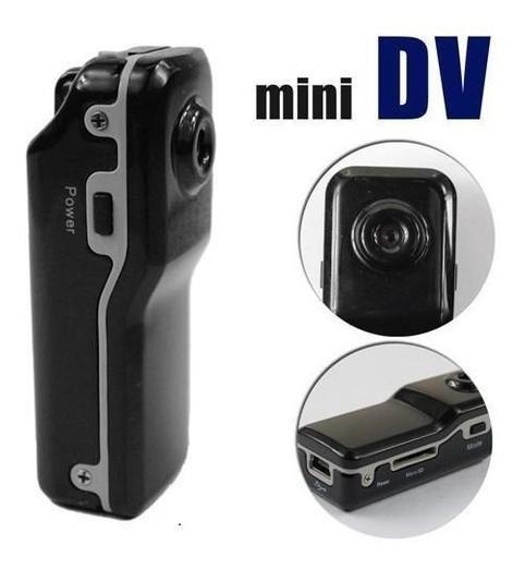 Mini Cámara Espía Md80 Grabador De Video Audio Imagen