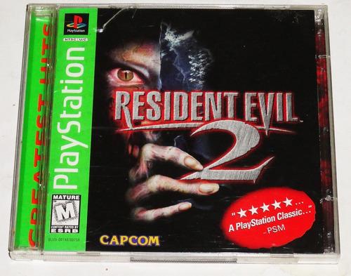 Resident Evil 2 Ps1 Original Americano Completo - Local