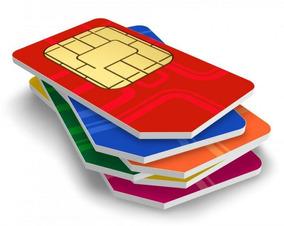 5 Chip M2m Para Telemetria Conexão Garantida