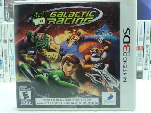 Imagem 1 de 3 de Bem 10 Galactc Racing - Nintendo 3ds - Em 12x Sem Juros !