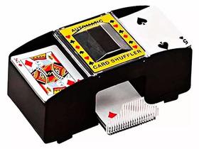 Embaralhador Automático Misturador Cartas Baralho Jogo Poker