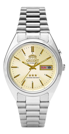 Relógio Orient Masculino Ref: 469wa3 C1sx Diâmetro 36mm