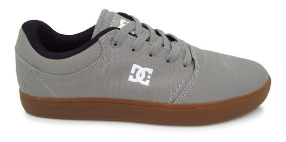Tenis Dc Shoes Crisi Tx Adys100066 2gg Grey Gum Gris Liga