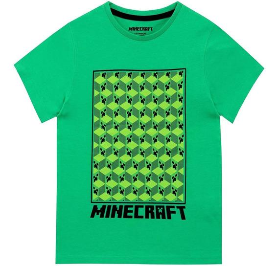 Playera Minecraft Niño Importada Original + Envío Gratis