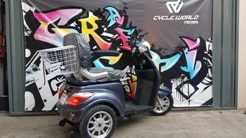 Triciclo  Electrico Sunra Shino 0km 2021 Sin Cambios