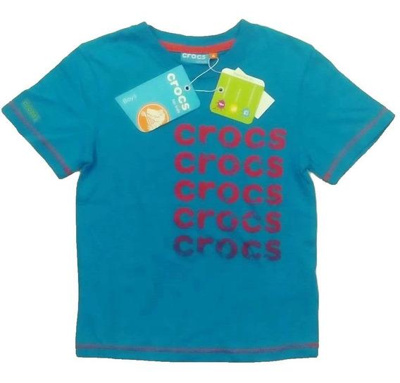 Polera Niño Crocs For Kids Original Talla 4 8 10