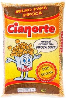 Milho Para Pipoca Top Sugar Cianorte 5kg
