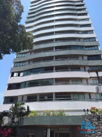 Apartamento Com 4 Dormitórios À Venda, 134 M² Por R$ 750.000/aluguel R$ 3.500 - Encruzilhada - Recife/pe - Ap9292
