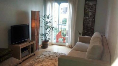 Apartamento Com 1 Dormitório À Venda, 50 M² Por R$ 520.000,00 - Brooklin - São Paulo/sp - Ap0819
