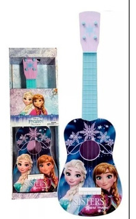 Guitarra Infantil De Juguete Disney Minnie Mickey Frozen