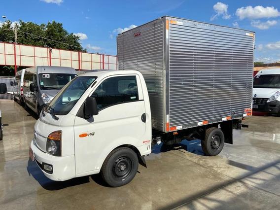 Hr Caminhão Hyundai Baú Aluminio 2016 Negrini - 139.273km