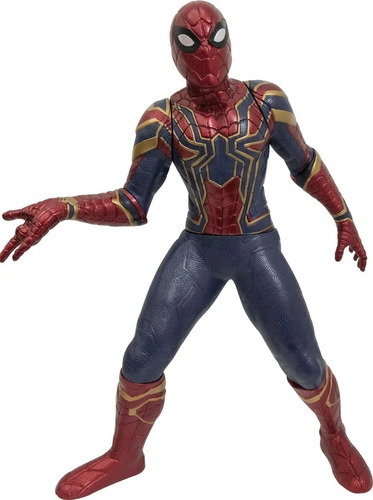 Boneco Iron Spider Man Prime Avengers - Mimo 0562