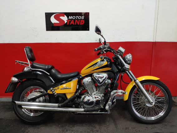 Honda Shadow 600 Vt C 2001 Amarela Amarelo