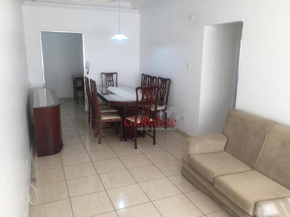 Apartamento Com 2 Dormitórios Para Alugar, 84 M² Por R$ 2.300,00/mês - Gonzaga - Santos/sp - Ap0477