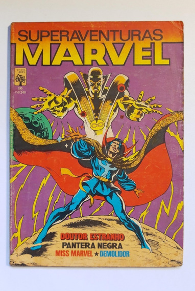 Superaventuras Marvel - Abril N.º 10 Ano 1983 - Frete Grátis