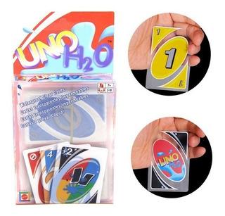 Uno H2o Juego Cartas Playing Card Family Fun